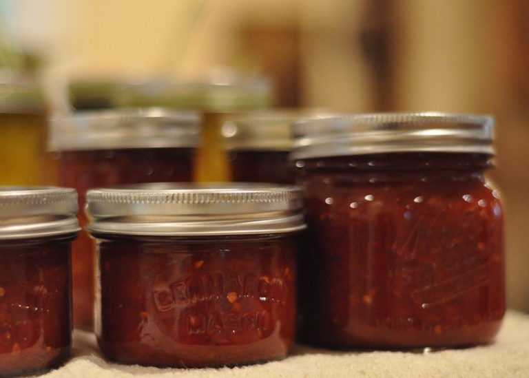 Tomato Jam | Putting Up With The Turnbulls