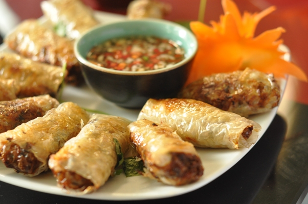 Vietnamese Cooking Class ~ Fried Saigon Spring Rolls